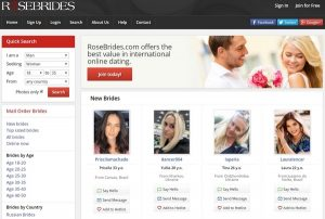 RoseBrides Registration